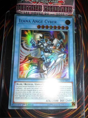 YU-GI-OH SR IZANA ANGE CYBER LED4-FR012 NEUF FRANCAIS EDITION 1