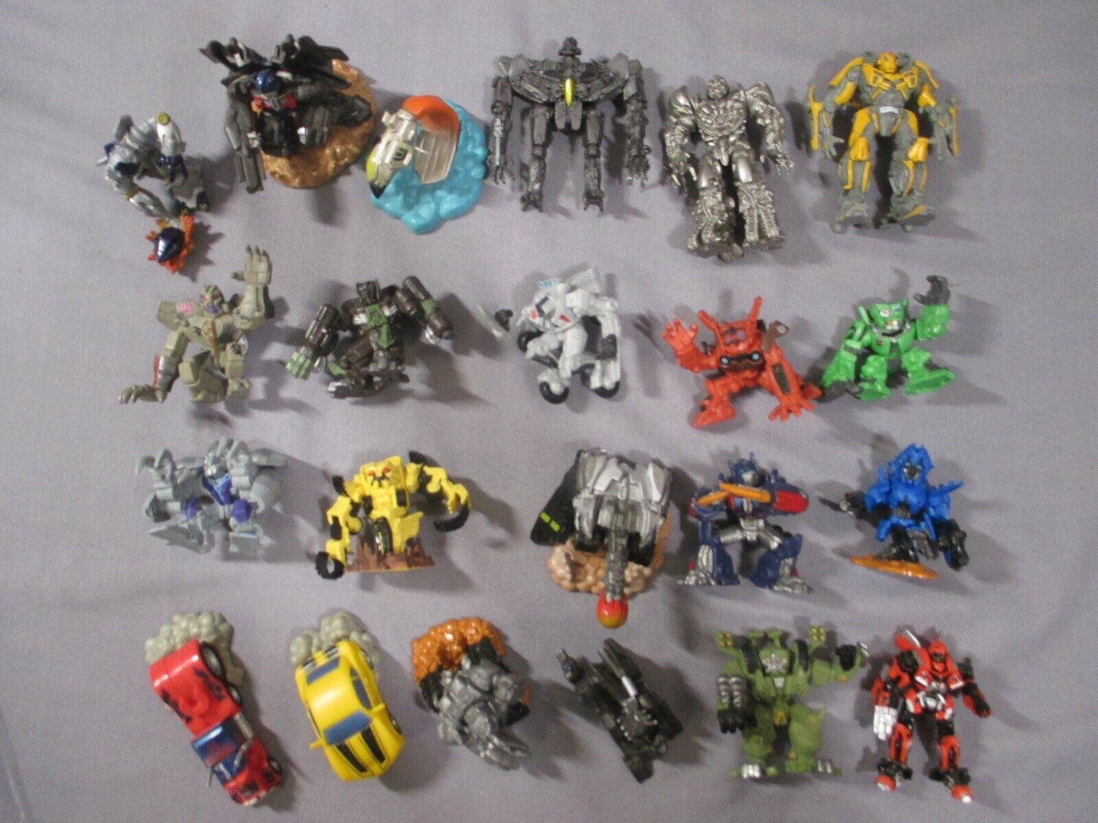 Transformers Robot Heroes Movie MEGATRON OPTIMUS PRIME Revenge of the Fallen Lot