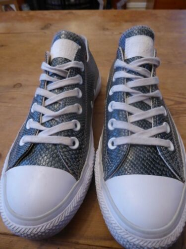 Low Uk Womens Size Converse Great 5 Leather Rise Condition Sqqxv1wU