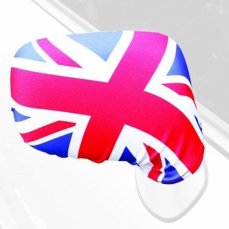 2 X1 PAIR UNION JACK CAR SIDE MIRROR COVERS EARS UNION FLAG WING MIRROR COVERS