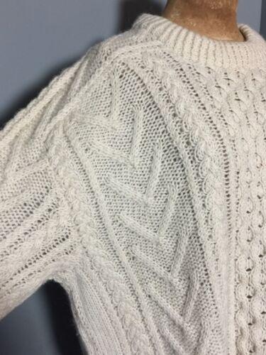 la à en 'gaeltarras' pull main Chest 1990 Arran 52 années Pull tricoté des col qw8I00