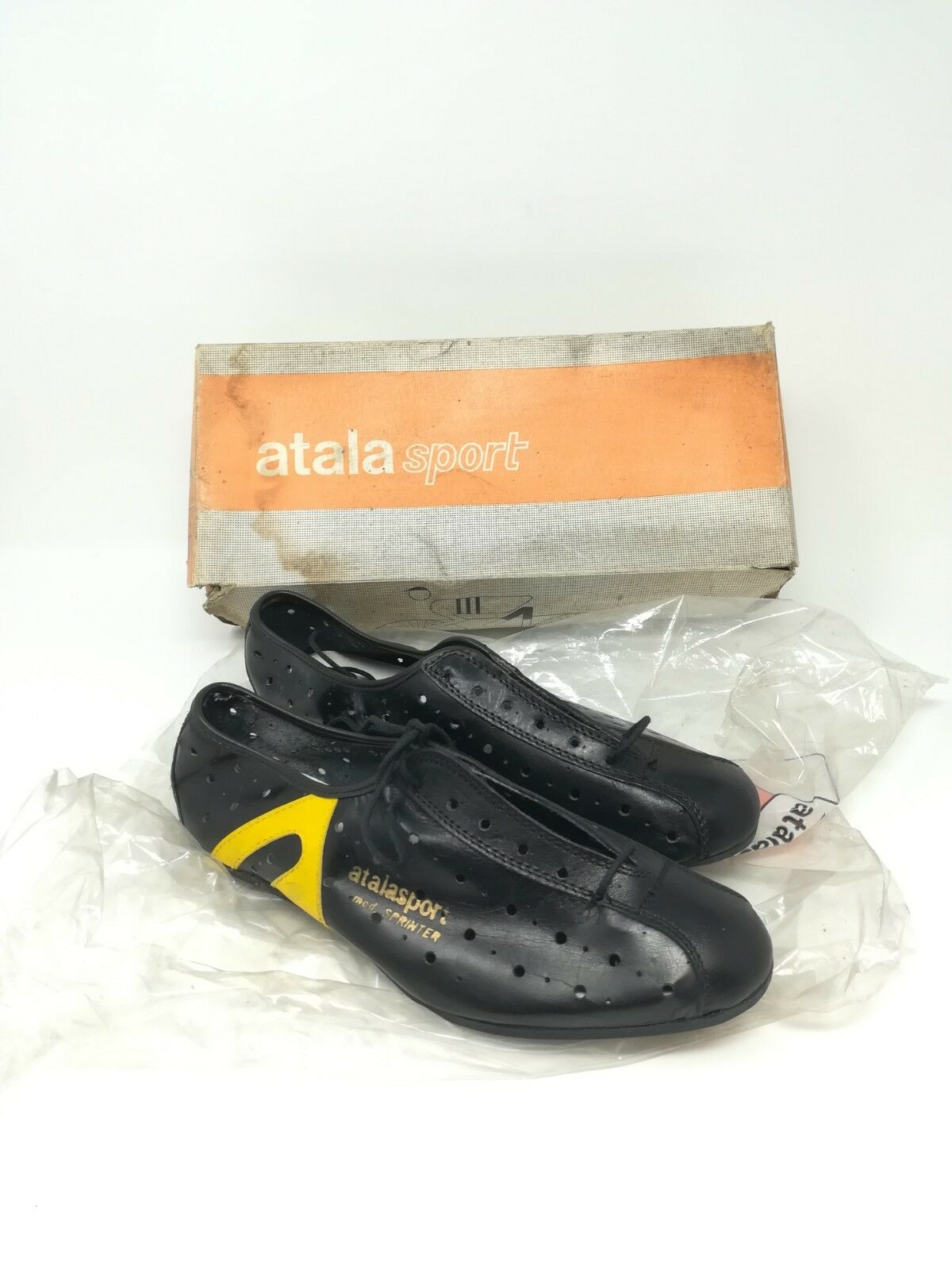 Vintage shoes ciclismo cycling shoes  Atala sport Sprinter  39 NOS