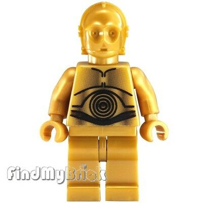 authentic LEGO minifigure Protocol Droid star wars sw0212 10188 Death Star