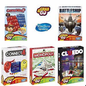 43d843913151c Hasbro Viaje Juegos de mesa   GRAB   Go   Ideal Para Vacaciones ...
