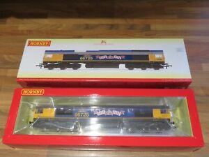 *NEW* DCC SOUND Hornby R3902TTS Class 66 66725 GBRf Sunderland OO Gauge