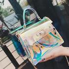 Sacs à main de mode sac à bandoulière sac à main sac gelée transparente Laser