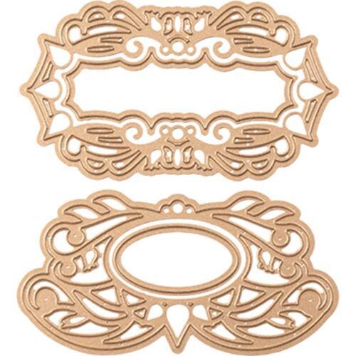 Spellbinders Designer Series Die ~ FLORAL SWIRLS TAGS ~ S4-665