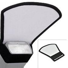 Camera Flash Diffuser Softbox Silver White Reflector for Nikon Canon Speedlite