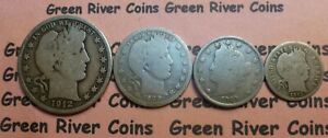 Liberty Type Coin Collection  Classic Old U.S. Coin 90% Silver  US Coins #T4S-1