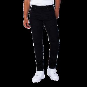 Smoke Rise Black Fashion Jeans w// Embossing
