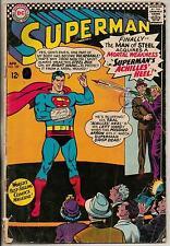 DC Comics Superman #185 April 1966 G+