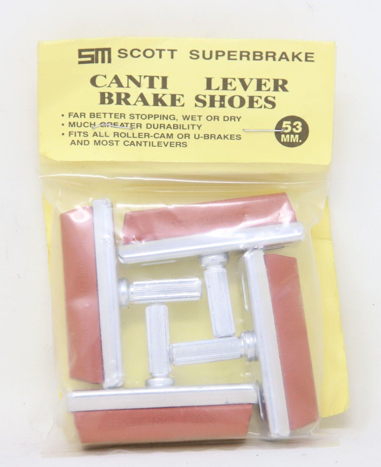 NOS SCOTT MATHAUSER BRAKE PADS ROLLERCAM U-BRAKE CANTILEVER  MTB BMX - NIP