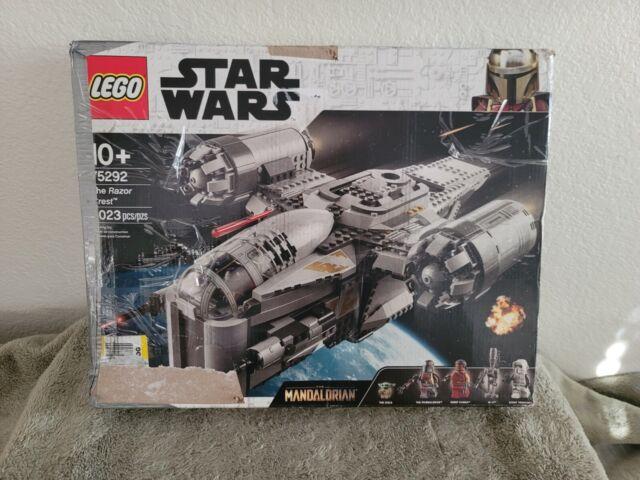LEGO Star Wars Mandalorian Razor Crest 75292. Open Box. Sealed bags.