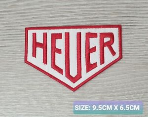 Heuer watches iron Badge Embroidered Iron On/Sew On Patch