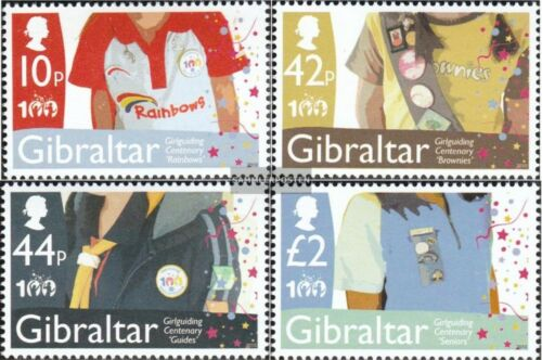 Gibraltar 13911394 mint never hinged mnh 2010 Girl Scouts