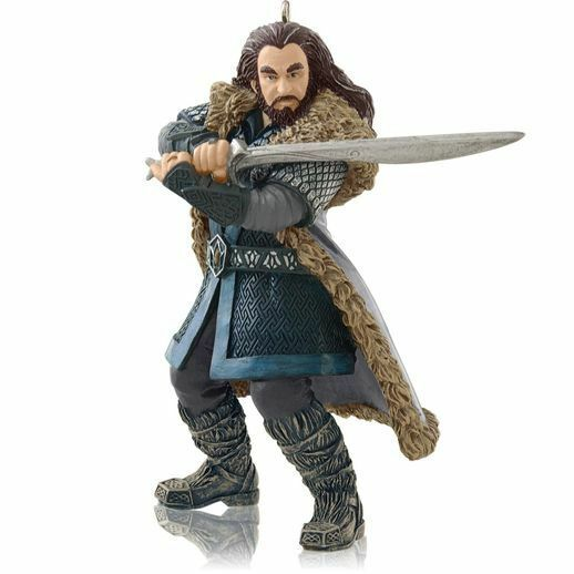 Hallmark 2014 Thorin Oakenshield The Hobbit  Ornament