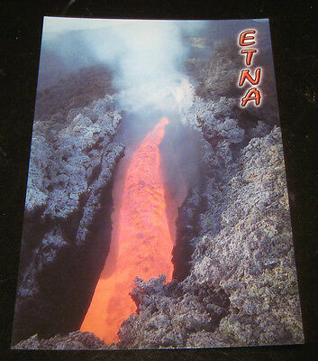 "Paesaggi//Cartoline//Postcard/""VULCANO ETNA/""Foto//Sicilia//Crateri Sommitali"