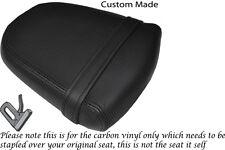 CARBON FIBRE VINYL CUSTOM FITS SUZUKI GSXR 600 750 K6 K7 06-07 REAR SEAT COVER