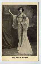 (Lq107-376) Real Photo of Actress Evelyn Millard, 1906,  Used G-VG