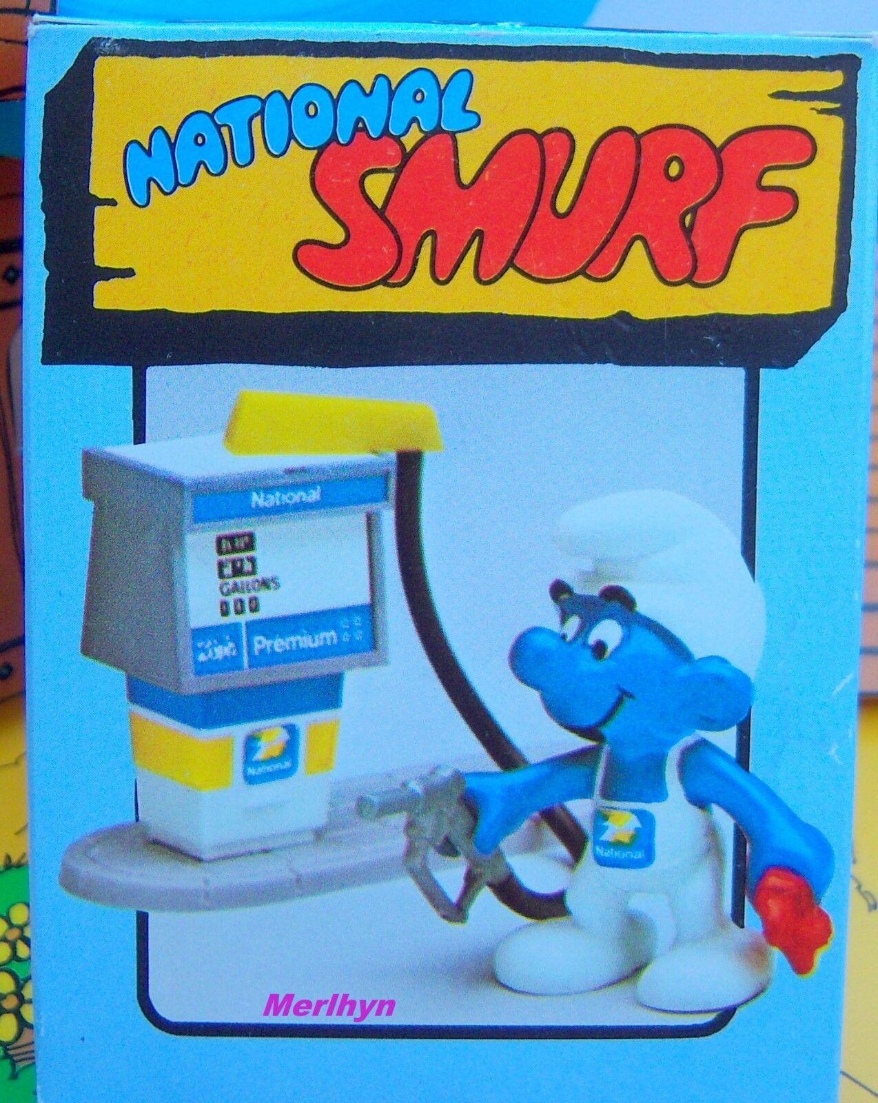 respuestas rápidas Schtroumpf station pompiste national smurf puffo Pitufo Pitufo Pitufo puffi puffo boite box  solo para ti