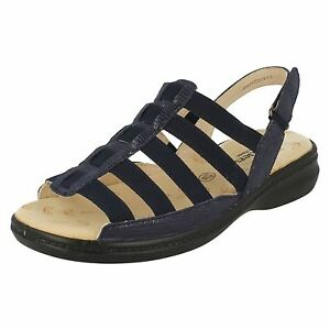 Ladies-Padders-Feel-Good-Feet-navy-sandali-stile-Lesley
