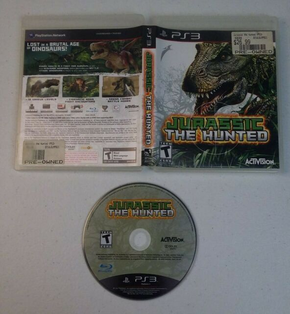 Jurassic: The Hunted (Sony PlayStation 3, 2009) TESTED