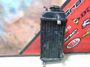 1989 YAMAHA YZ 250 RIGHT RADIATOR 89 YZ250