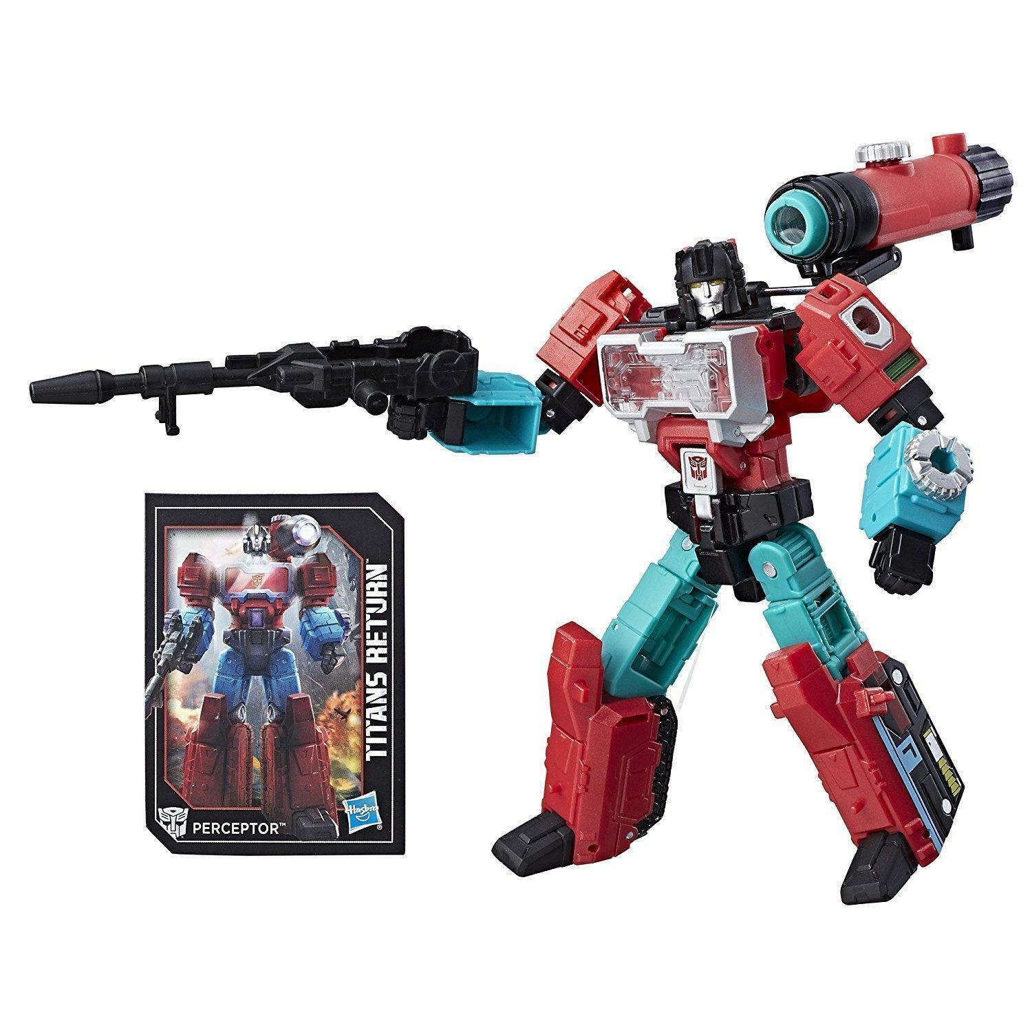 Transformers Transformers Transformers Generations Titans Return Autobot Perceptor and Convex NEW ad7c4a