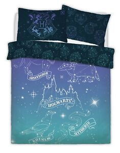WARNER-BROTHERS-HARRY-POTTER-CELESTIAL-MAGIC-Duvet-Cover-Set-with-Pillowcases