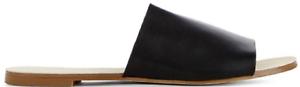 New JustFab Maloa in Black Open Toed Flats US US US Size 11 f3e804