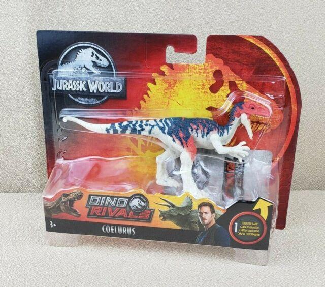 Jurassic World Dino Rivals Attack Pack Coelurus WAVE 2 Jurassic Park NEW
