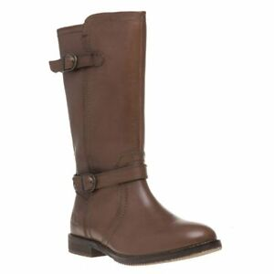 Knee Chatham Leather Zip Brown Julia Womens Marine high New Boots c5Aqw0HzcP