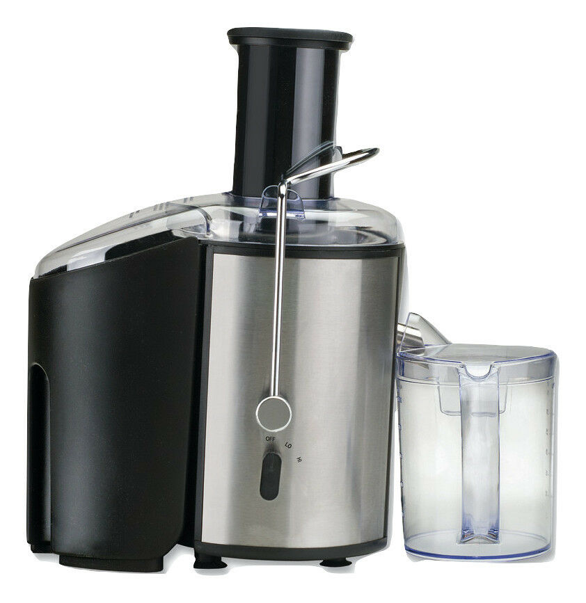 Miracle MJ3000 Centrifugal Pulp Ejecting 2 Speed Juicer Large Feeding Tube