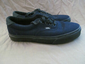 a6d4ac7082bed9 New Authentic Vans Classic Navy Blue Wool Mens 7 Women s 8.5 ...