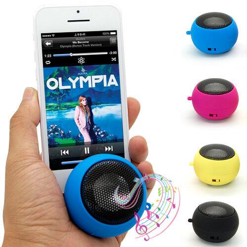 Mini Hamburg Speaker Sound Box For iPhone iPod Mobile Phone Tablet PC MP3 3.5mm