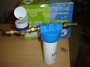 Wasserfilter-Wasseruhr-Brunnenwasserfilter-Kartuschenfilter-Aktivkohlefilter