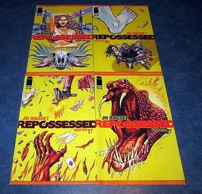 Issue Comic SET #1 2 3 4 iMAGE 1st print Demon possession 4 REPOSSESSED