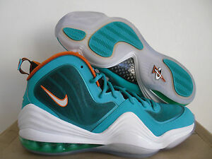 promo code 9c6b6 61afb Image is loading NIKE-AIR-PENNY-V-NEW-GREEN-WHITE-SAFE-