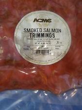 Restaurant Quality NATURAL HARDWOOD SMOKED SALMON  TRIMMINGS 4 lbs (64 oz) Bag