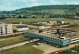 70-VESOUL-vue-aerienne-maison-du-combattant-voiture-auto-1964-Haute-Saon