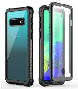 Snowfox Samsung Galaxy S10 Case Heavy Duty Protection With Built In Screen 725756824532 Ebay
