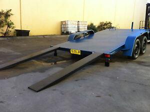 BRAND NEW Car Trailer TANDEM MANUAL TILT BED 12x6.6FT  2TATM AUSTRALIAN MADE