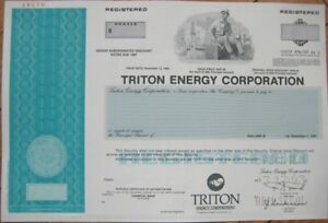SPECIMEN-OIL-Stock-Certificate-039-039-Triton-Energy-Corp-039-039