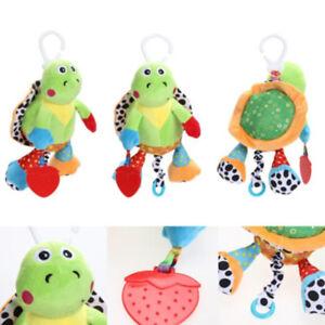 84b1c3737d7ef Bee Tortoise Animal Cartoon Hang Stuffed Toys Baby Pacifies Rattle ...