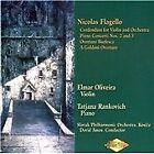 Nicolas Flagello - : Credendum for Violin & Orchestra; Goldoni & Burlesca Overtures; Piano Concertos No (2000)