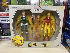 IN-STOCK-X-Men-Marvel-Legends-Rogue-amp-Pyro-6-Inch-Action-Figure-2-Pack-HASBRO