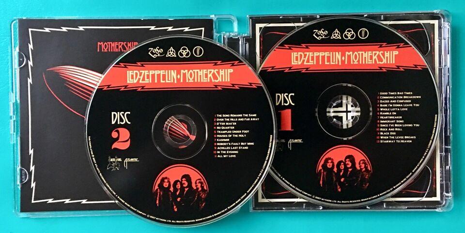 Led Zeppelin (2CD): Mothership, rock