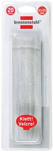 Frank Brennenstuhl Klett-kabelbinder Weiß 12mm X 125mm Tv- & Heim-audio-zubehör 1164350 Modern Und Elegant In Mode Tv, Video & Audio