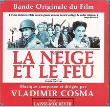 LA NEIGE ET LE FEU vladimir cosma CD (609) bande originale du film LARA FABIAN