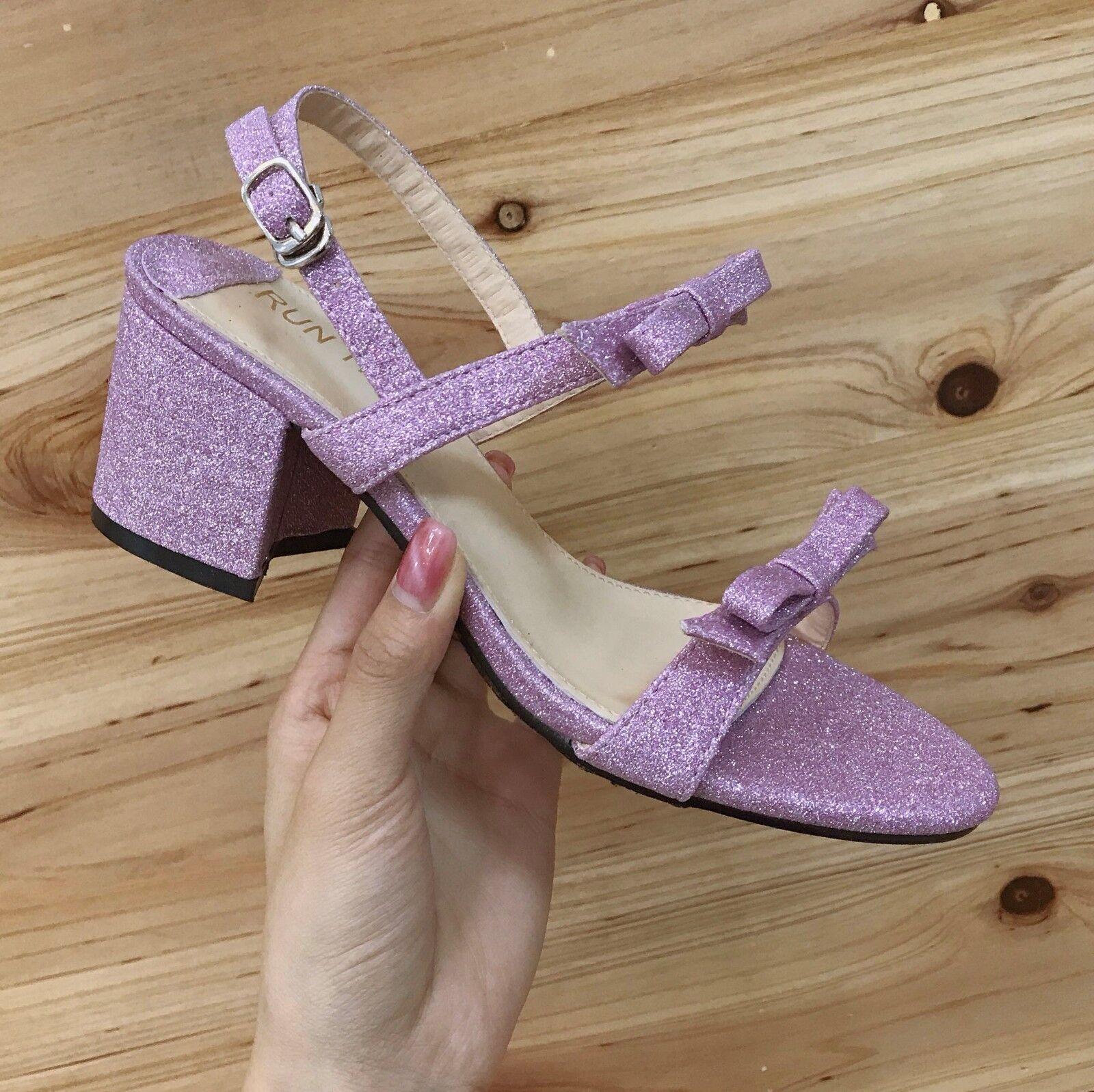 Sandaleeen 7 cm elegant violett glanz absatz quadrat Sandaleeen simil leder 1093